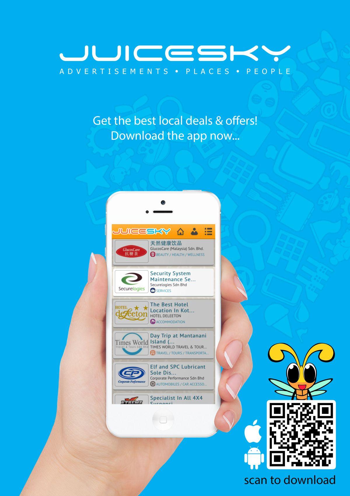 Download JuiceSky App